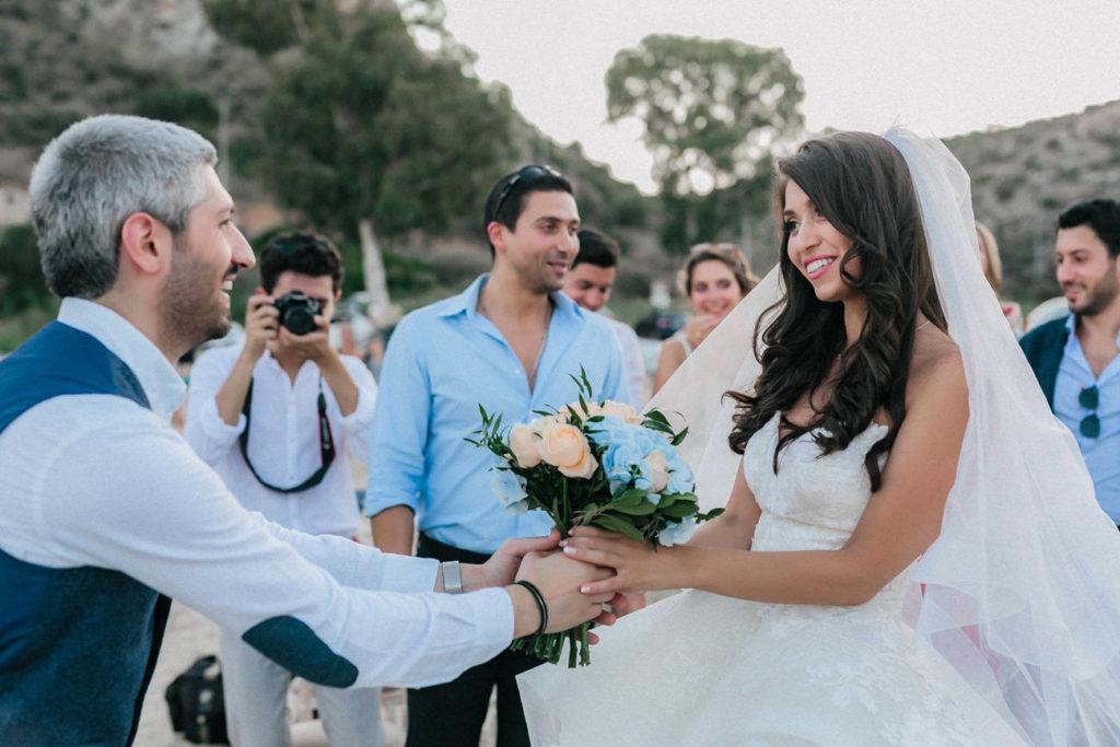 happy bride happy groom